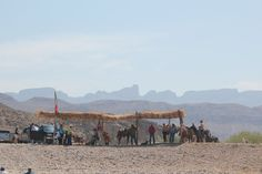Horses, burros and trucks await you once you cross the river to take you into Boquillas.