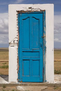 Door to the middle of nowhere by Blacksails, via Flickr