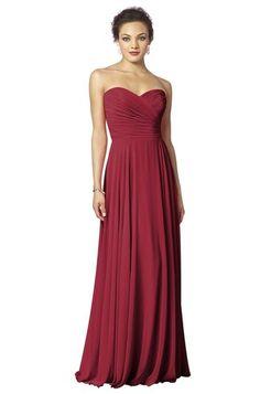 Snow white inspiration After Six 6639 Bridesmaid Dress | Weddington Way