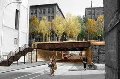 Philadelphia Unveils Their Own Elevated Rail Park for the Abandoned Reading Viaduct. Like the high line