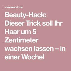 Beauty-Hack: Dieser Trick soll Ihr Haar um 5 Zentimeter wachsen lassen – in einer Woche!