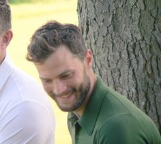 Jamie Dornan at Alfred Dunhill Links (credit to ScarletteDrake on Twitter)