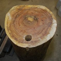 getting an elm tree stump revamped for stakes Metalsmiths Unite! (the blog)