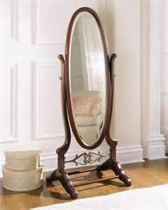 Powell Cherry Cheval Mirror - This Full Length Mirror Is a Perfect Accent Piece to Any Room - This Large Beveled Mirror Is a Tasteful Piece of Furnishing to Your Home Decor - 1 Year Warranty! ** Read more at the image link. Decor, Traditional Floor Mirrors, Mirror Decor, Beveled Mirror, Mirrors For Sale, Oval Mirror, Mirrored Bedroom Furniture, Home Decor, Standing Mirror