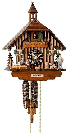 Cuckoo Clock Little Black Forest House by Hönes Cycle: 1 day running time