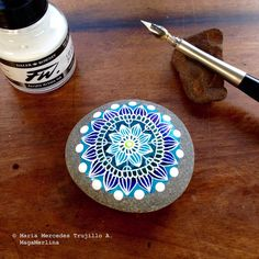 Mandala Pebble - Mandala Stone