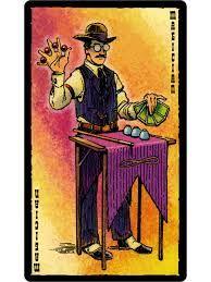the magician - prairie tarot