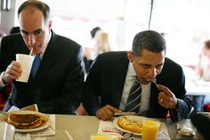 A Photographic History of President Obama Eating Junk Food During Photo Ops