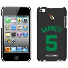 Boston Celtics Garnett 5 Design iPod Touch 4G Case