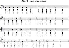Good King Wenceslas Sheet Music for Tin Whistle