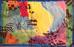 """Thoughts"" by Raquel Reyes from the Marcella Intermediate School art program. #ArtColony #HouArtFest"