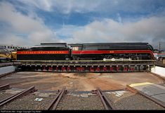 RailPictures.Net Photo: N&W 611 Norfolk & Western Steam 4-8-4 at Spencer, North Carolina by Troy Nolen
