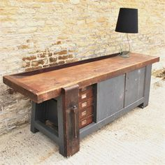 Huge Industrial Work Bench - Vintage Industrial Furniture - Original House ($500-5000) - Svpply