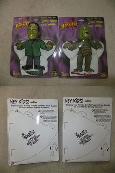 Creature from the Black Lagoon 168249: Universal Monster Hand Puppets Frankenstein Creature Funko Moc -> BUY IT NOW ONLY: $74.99 on eBay!
