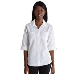 Show details for Ladies Prime Woven Shirt Shirt Blouses, Shirts, Shirt Store, Lady, Tops, Women, Fashion, Moda, Fashion Styles