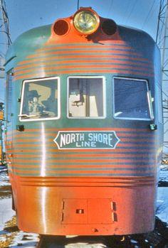 Image result for vintage chicago trains
