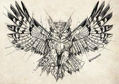 owl tattoo for women design ideas Tattoo Outline Drawing, Owl Tattoo Drawings, Tattoo Sketches, Tattoo Owl, Owl Tattoos, Fish Tattoos, Kunst Tattoos, Body Art Tattoos, Sleeve Tattoos