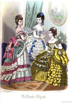 Le Monde Elégant 1874 January