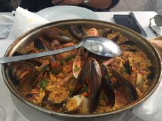 Paella de marisco  Spain  Eligetuplato