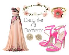 """""""Daughter of Demeter"""" by asimovart on Polyvore"""