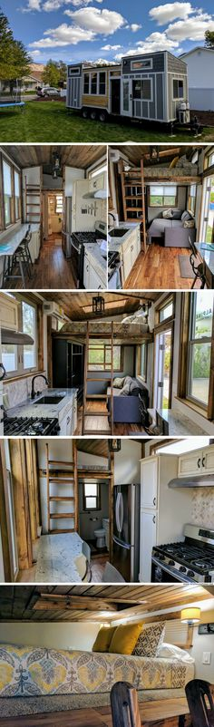 The Teton: a luxury two bedroom tiny house by Alpine Tiny Homes