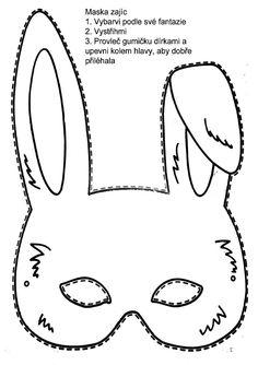 Dibujo recortable Máscara de oso ,colorear y recortar