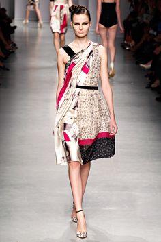 Antonio Marras Spring 2012 Ready-to-Wear Fashion Show - Vasilisa Pavlova
