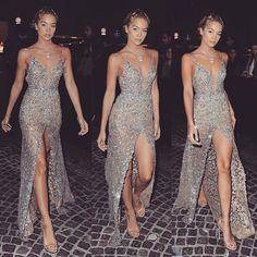 #tbt how good @golden_barbie was looking in this #BERTA evening dress Soooo good