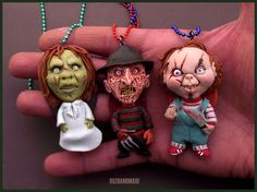 Horror PARTY - Cult Horror CHARMS by buzhandmade.deviantart.com on @deviantART