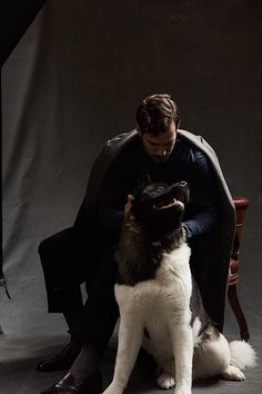 Stylist shares an outtake from Henry Cavill and Kal's 2017 shoot for Henry Cavill, Superman Cavill, Henry Superman, Tom Hardy, Love Henry, Henry Williams, Akita Dog, Hollywood Men, Man Of Steel
