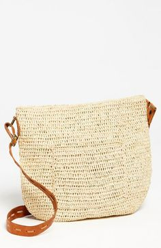 Mar y Sol 'Sydney' Crocheted Crossbody Bag available at #Nordstrom
