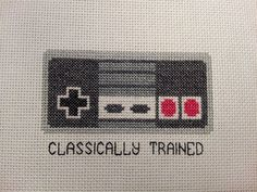 Nintendo Cross Stitch Pattern by TheHandicrafter on Etsy