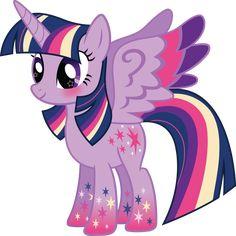 Rainbow Power Twilight Sparkle Vector by icantunloveyou on DeviantArt