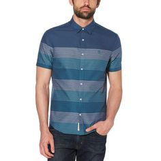 Loving the stripes on this @originalpenguin shirt! _ #originalpenguin #shirt #stripes #menswear #mensfashion #fashion #menstyle #style #ootd #sale