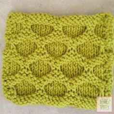The Hive Knit DishclothPattern - Home - beingspiffy