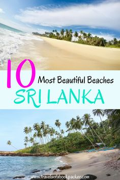 Heading to Sri Lanka? Don't miss these amazing beaches! Read our guide to the best beaches in Sri Lanka. The best spots for surfing in Sri Lanka as well as suggestions for accommodation and other activities at these beautiful beaches. #srilanka #srilankabeach #beaches #bestbeachessrilanka #mostamazingbeaches #beautifulbeaches