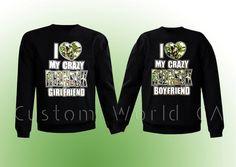 Couple Sweatshirt Crewneck Disney  I love my by CustomWorldCA