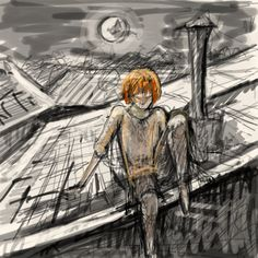 Kvothe in Tarbean by Beileag