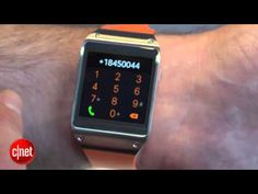 Samsung Galaxy Gear watch that pairs with your phone