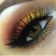 Eye Makeup OMG this is beautiful on hazel eyes. I must try this out!