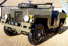 Land Rover Lightweight, as militar.