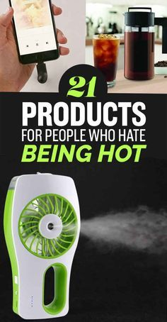 21 Products For People Who Hate Being Hot