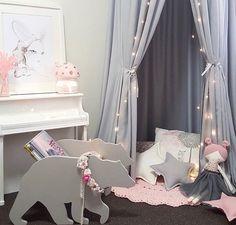 So magical with our fairy toadstool light ✨ @millyandgeorgedesigns #littlebelle #girlsroom #girlsroomdecor #nightlight #girlsnightlight