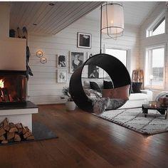 Wohn Esszimmer, Haus Design, Inneneinrichtung, Haus Innenräume, Wohnzimmer  Inspiration, Dachgeschoss,