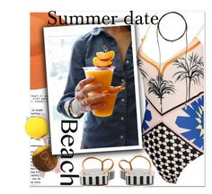 Summer Date: The Beach by paculi on Polyvore featuring beach and summerdate