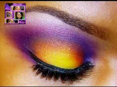 PURPLE INFERNO :|: Thanks so much Eronie Minx-Mignon Coleman from my FB Group for naming this Look!!