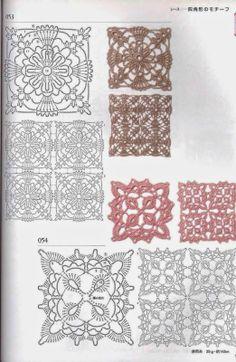 Ateliê Tricô e Cia Gisele Moura: Square de Croche