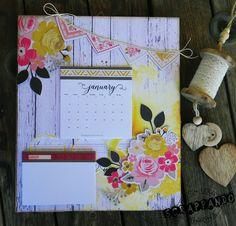 Calendario da Parete   Scrappando Carta & Ricordi