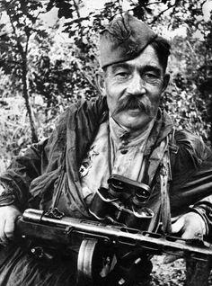 Russian officer. Kursk.