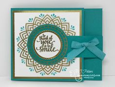 Check out this amazing Eastern Palace fun fold - and amazing card!  #stampinbj.com